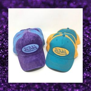 JUST IN🆕 2 Colors Von Dutch Snap Back Hats